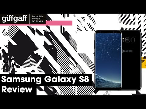 Samsung Galaxy S8 | Phone Review | giffgaff