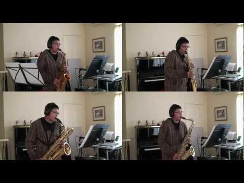 Saxophone Quartet: Merry Christmas Medley