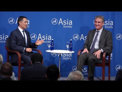 Pakistan: Minister of Foreign Affairs Makhdoom Shah Mahmood Qureshi