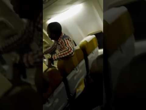 Passagers vol Asky en colère