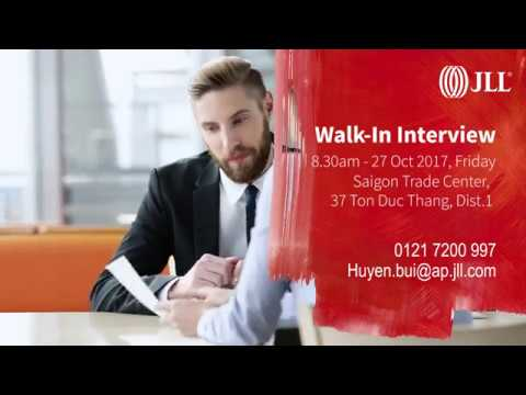 JLL Walk-in interviews on Oct 27th
