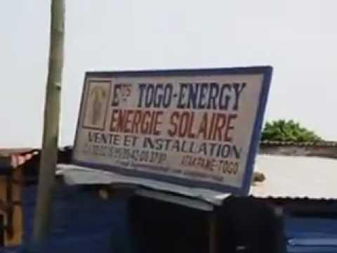 Solar Electricity in Atakpamet Togo West Africa