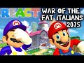 LUIGIKID REACTS TO: SM64: WAR OF THE FAT ITALIANS 2015 by SMG4