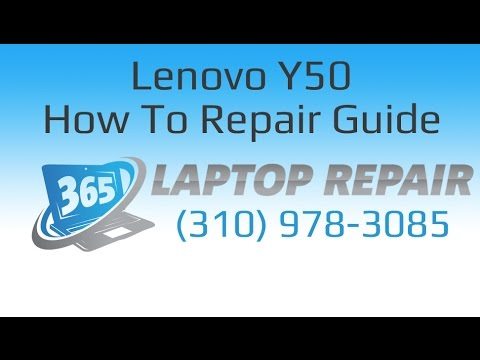 Lenovo Y50 How To Take Apart and Repair Tutorial - By 365