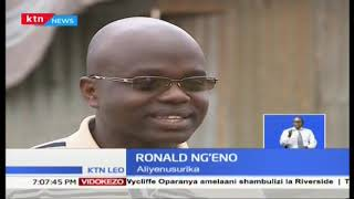 Ronald Nge\'no aliokolewa baada ya kuitisha usaidizi kwa kutumia mtandao wa twitter