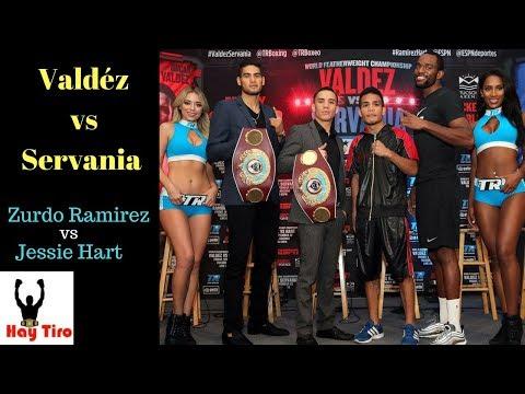 Hablemos de Oscar Valdez vs Servania y Zurdo Ramirez vs Jessie Hart / André Ward anuncia retiro