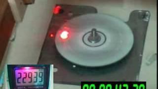 CD exploding 23.000 RPM thumbnail