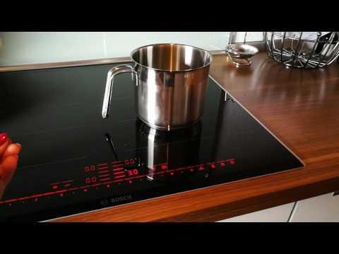 Bosch Serie 8 Elektro-Kochfeld: hier ist die Topferkennung selbstverständlich