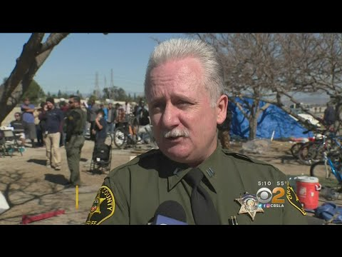 Orange County Begins Evicting Homeless From Riverbed Encampment