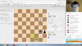 Шахматы. Прямая трансляция. Живое общение, блиц, ответы на вопросы