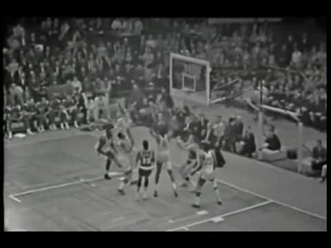 LeRoy Ellis Game 7 1966 NBA Finals Highlights