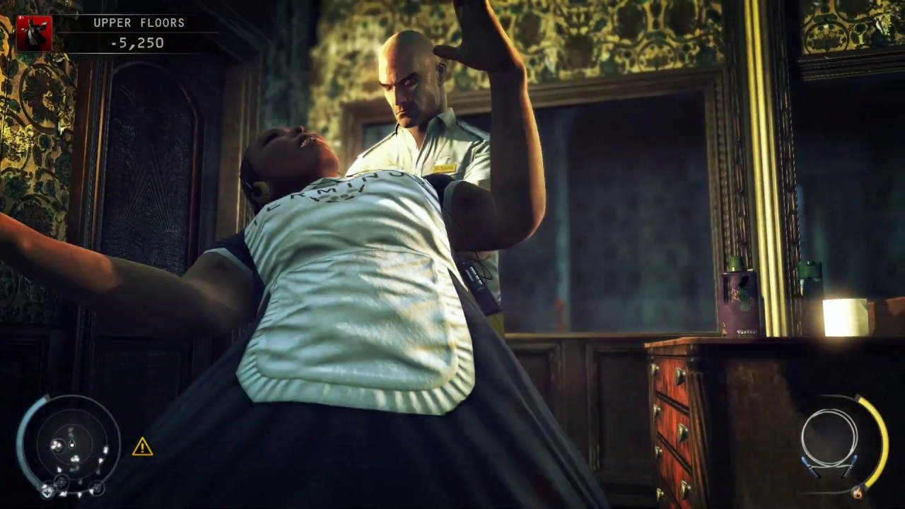 Hitman Absolution Garrote Cleaners In Terminus Hotel Youtube
