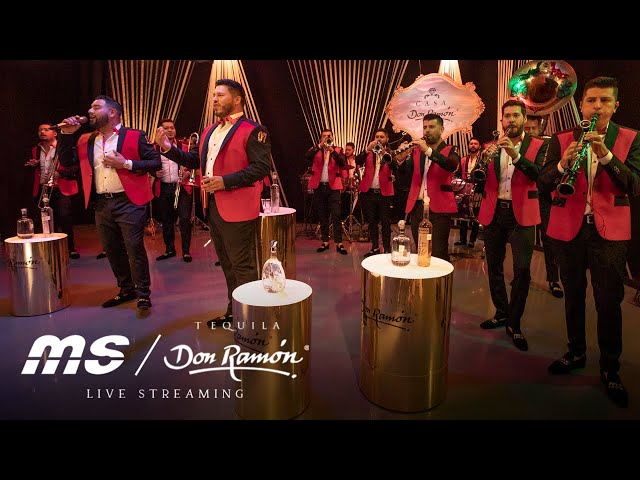 Banda MS en vivo Streaming Patrio - Tequila Don Ramón