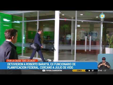 Detuvieron a Roberto Baratta, ex funcionario de Planificación Federal