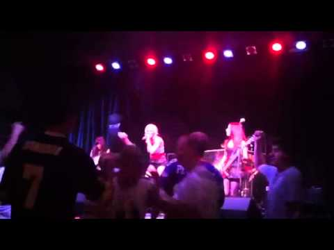 Dollface girl band live at Excalibur in Vegas