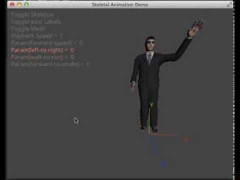 Piston - Skeletal Animation Demo