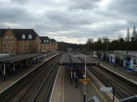 Trains at Elstree and Borehamwood (Journey) (MML) - 10/03/18