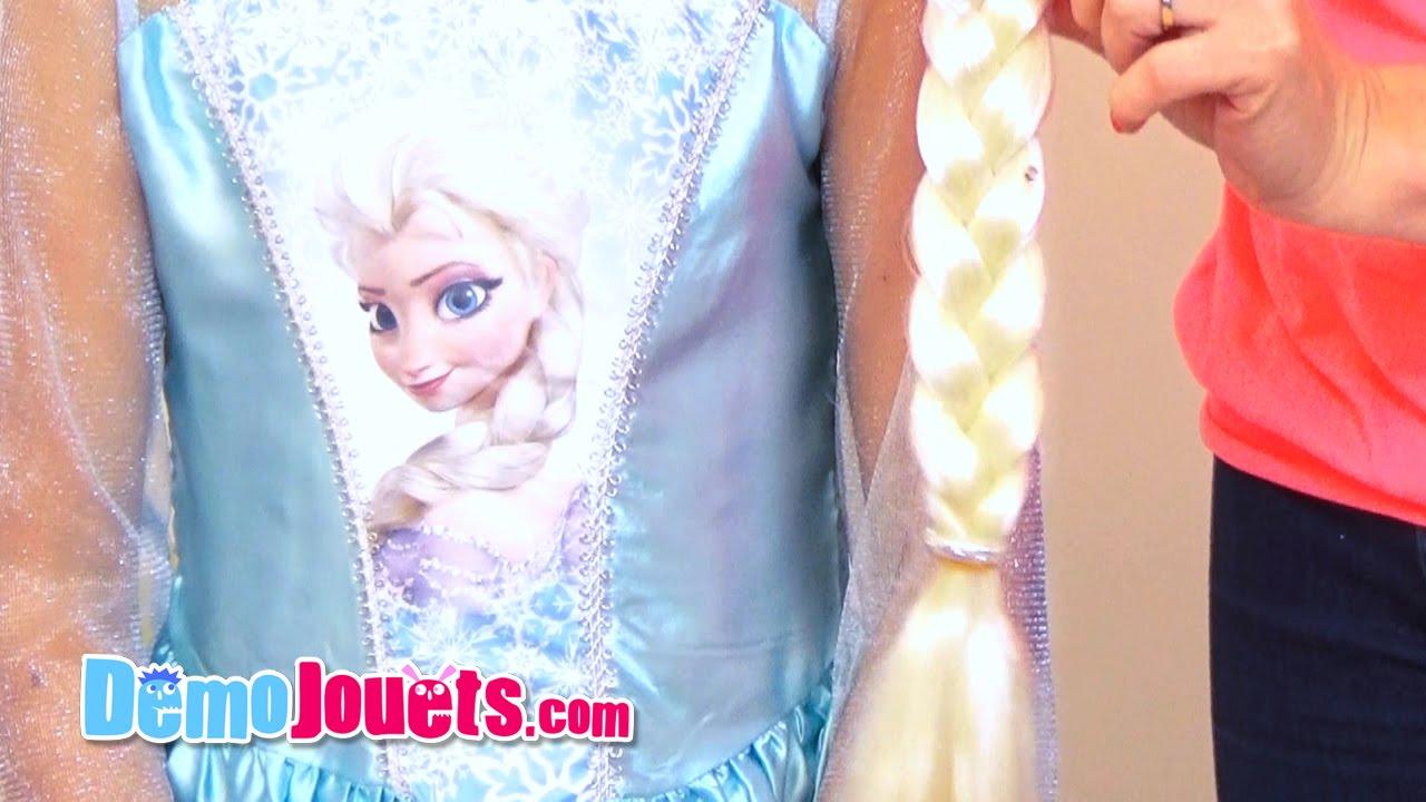 jouet d guisement elsa la reine des neiges disney rubies d mo jouets youtube. Black Bedroom Furniture Sets. Home Design Ideas