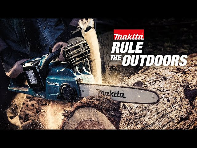 Makita 18V X2 (36V) LXT Chainsaw  XCU03 (15 sec)