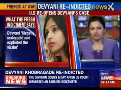 Devyani tried to silence and intimidate the victim ?