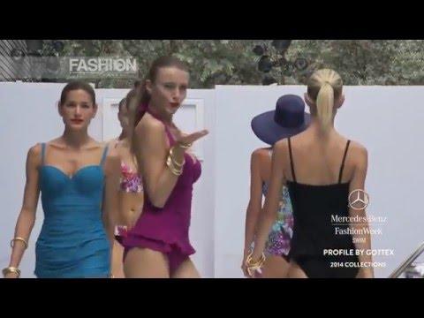 """Fashion Show """"GOTTEX"""" Miami Fashion Week Swimwear Spring Summer 2014 by Fashion Channel"""