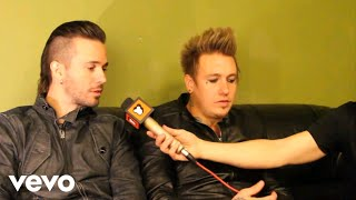 Papa Roach - Toazted Interview 2013 (part 4)
