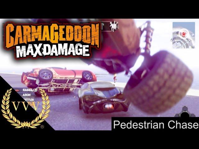 Carmageddon Max Damage Pedestrian Chase