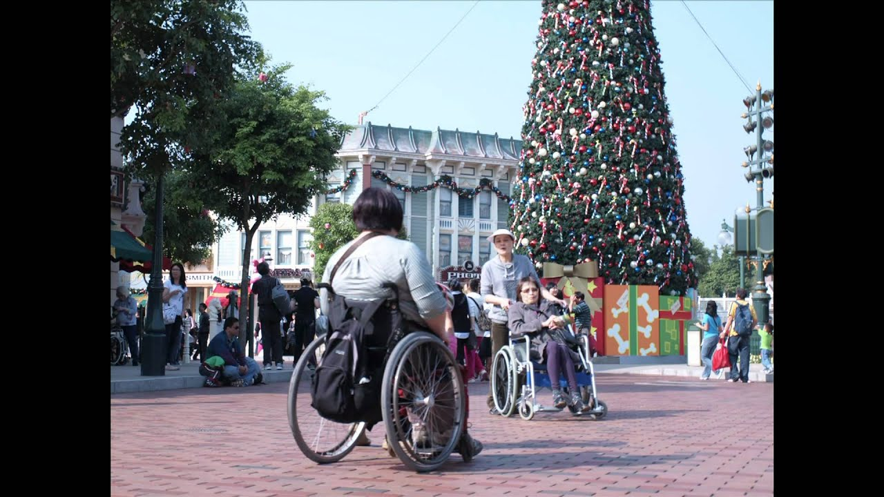 Wheelchair Rental at HK Disneyland