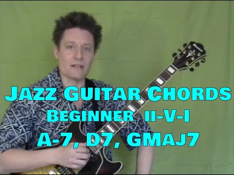 Guitar 18 guitar chords : Jazz Guitar Chords, Steve Bloom, ii-V-I, Upper 4 Strings, Video ...