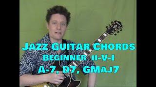 Jazz Guitar Chords, Steve Bloom, ii-V-I, Upper 4 Strings, Video #18