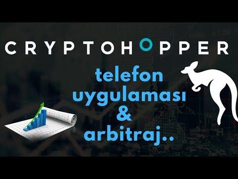 Cryptohopper Telefon Uygulaması Ve Arbitraj Robotu