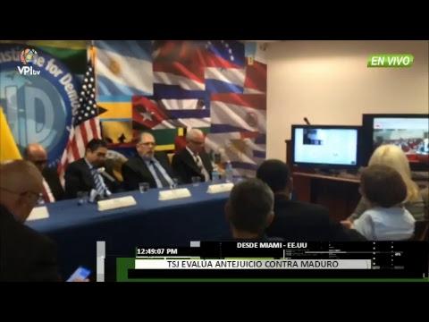 EN VIVO - TSJ evalúa antejuicio contra Maduro desde Colombia