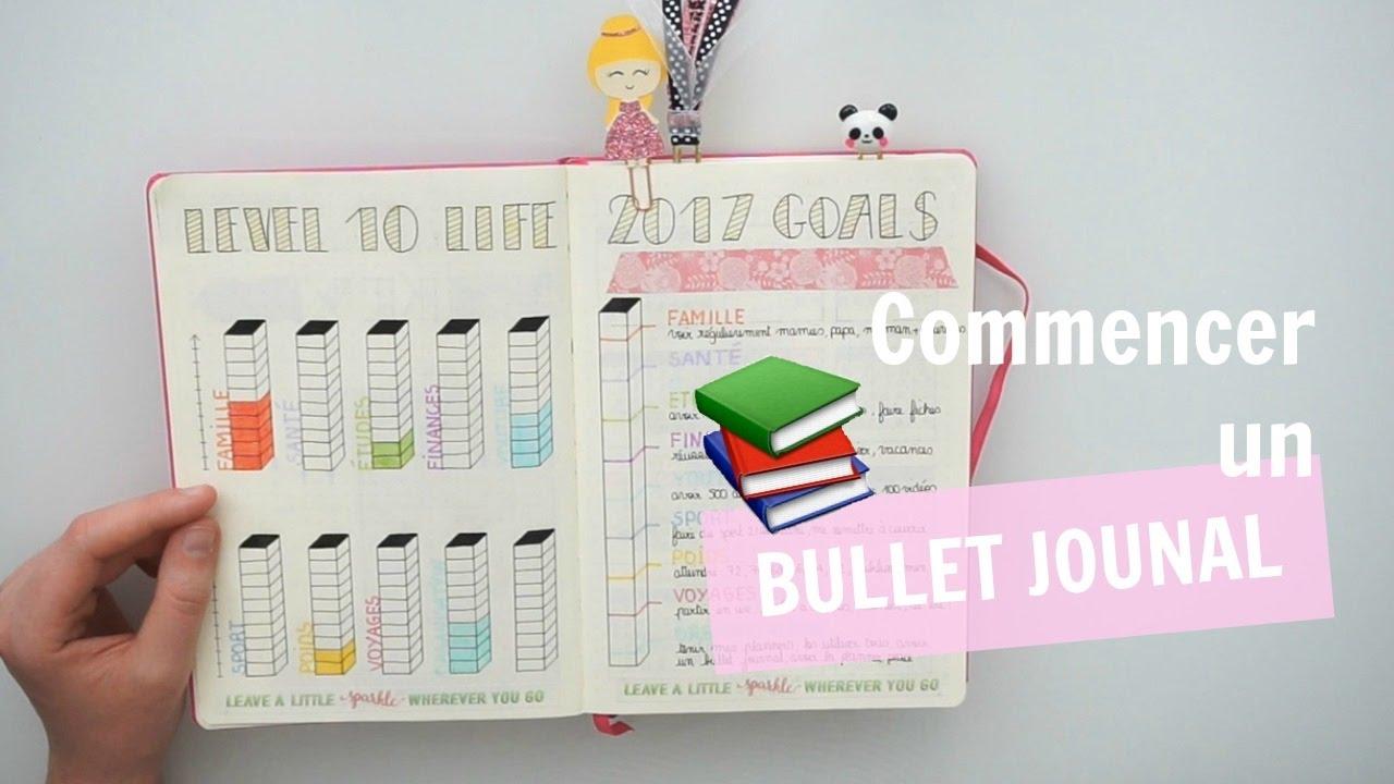 commencer bullet journal