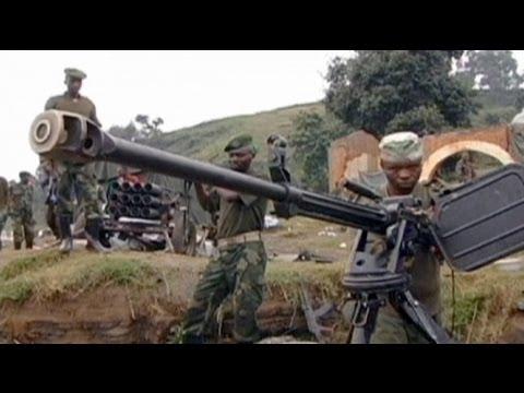 ONU e Exército bombardeiam posições de amotinados no Kivu-Norte