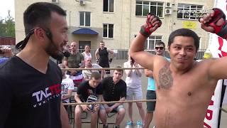 КРЕПКИЙ ГРУЗИН против Уличного бойца !!!