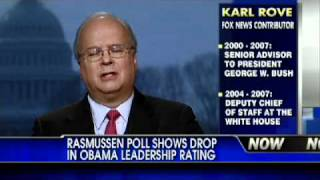 Rasmussen Poll Shows Drop in President's Leadership Rating