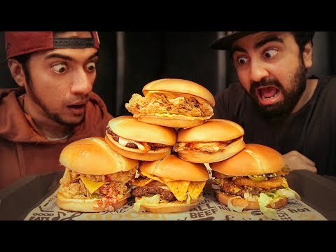 We ate 6 BURGERS in Karachi