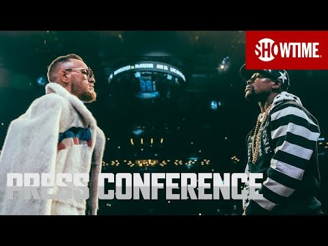 Mayweather Vs. McGregor: New York Press Conference | SHOWTIME