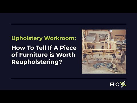 Thrift shopping 101: Is this vintage sofa worth reupholstering?