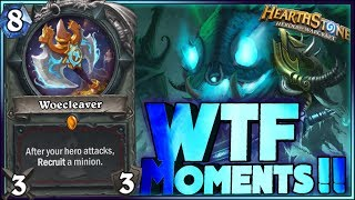 Hearthstone - RNG Kobolds WTF Moments - Funny and lucky Rng Moments