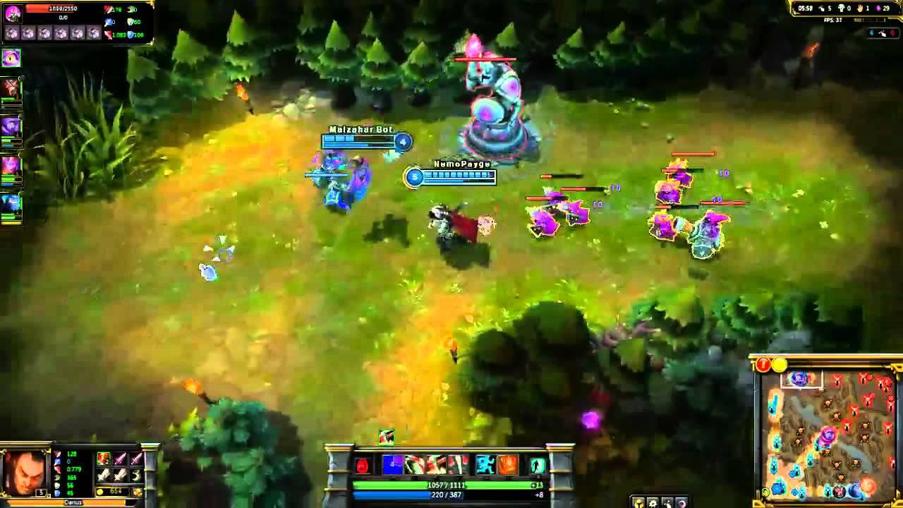 Darius Gameplay Pbe League Of Legends Youtube