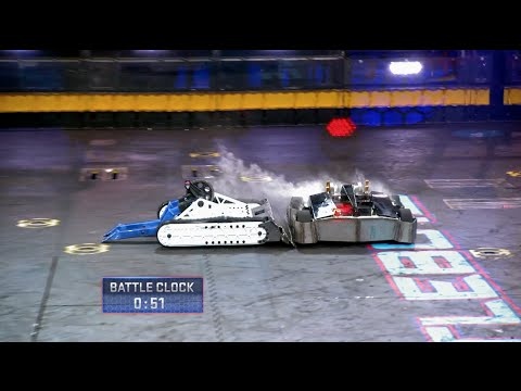 Bite Force vs. Hypershock - BattleBots - YouTube