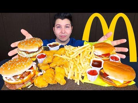 Massive McDonald's Feast • MUKBANG