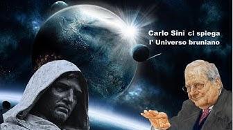 CARLO SINI: L'UNIVERSO DI GIORDANO BRUNO (Biblioteca Misano)