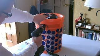"DIY Air Filter! The ""5 Gallon Bucket"" Air Filter. Awesome Air Purif..."