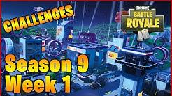 Всички предизвикателства за Седмица 1 от Сезон 9 във Fortnite Battle Royale
