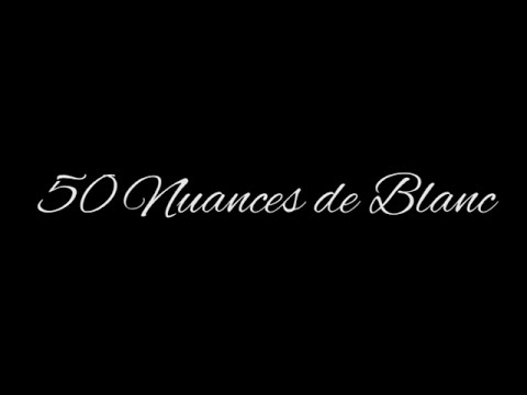 Lenzorino 50 nuances de blanc youtube - Nuance de blanc ...