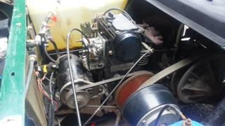 2002 EZGO  Gas Golf cart 295cc oil change 10/30w 1.5 quarts capacity
