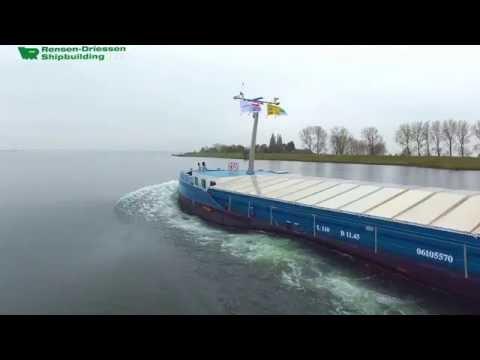 Inland dry cargo vessel Kamina