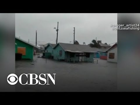 """Bahamas official says Hurricane Dorian is """"situation that is hard to describe"""""""